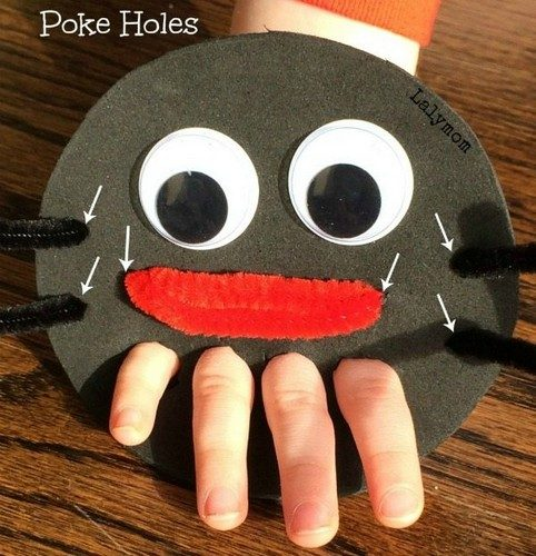 Incy Wincy Spider Hand Puppet