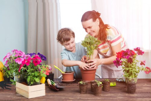 Gardening is Great for Kids