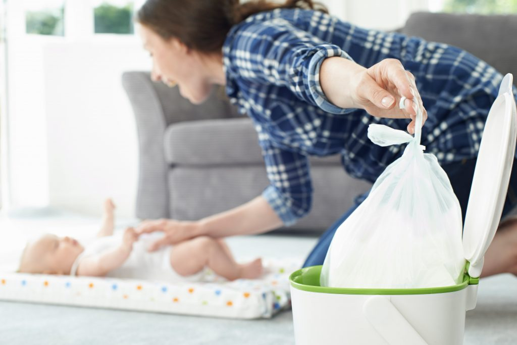 Changing bag essentials for first-time mums