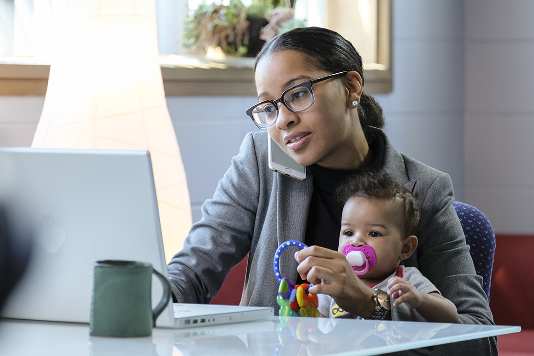 Juggling work with being a parent