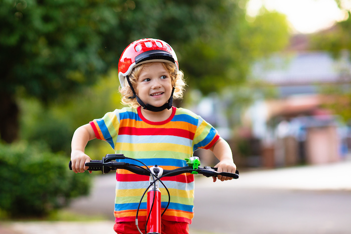 new and young cyclists