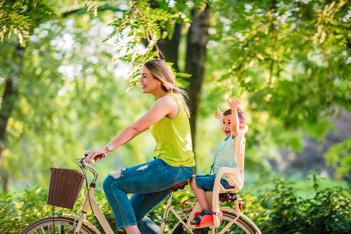 cycling with babies and toddlers