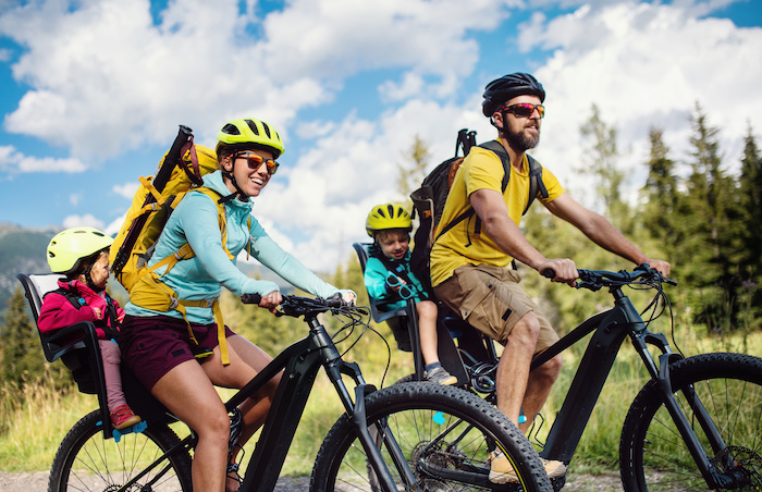 How to plan bike rides for the whole family
