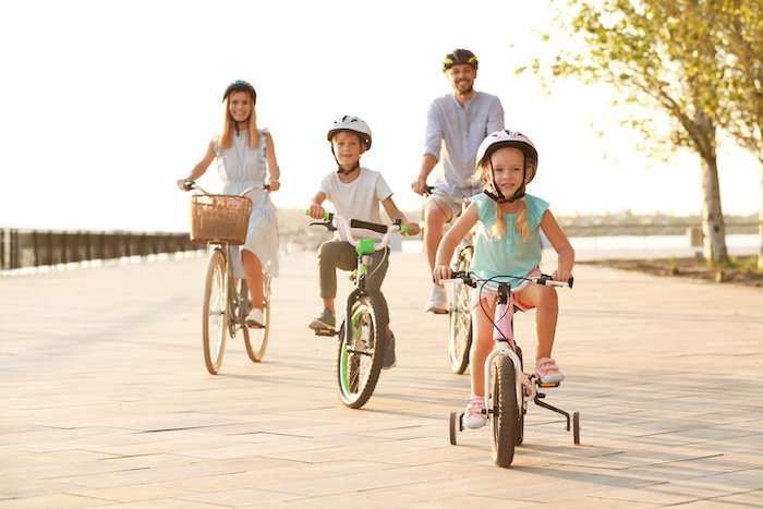 summer cycling adventures for the whole family