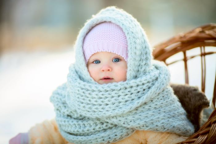 how to look after baby's skin in colder weather