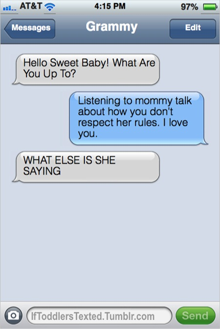 If Toddlers Texted: Hilarious Messages Little Kids Would Send if They Could