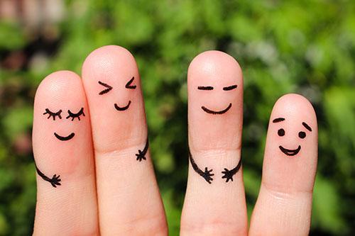 Finger friends